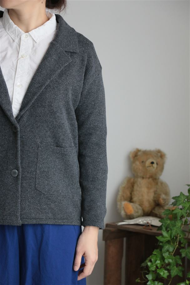 SD63AWK710F05 STAMP AND DIARY Knit Jacket 2色