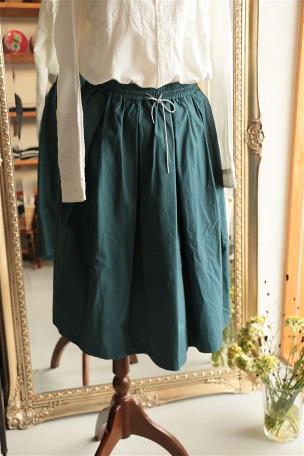 <SALE>TK162071 TINA and SUSIE 40-タイプライタークロススカート 2色
