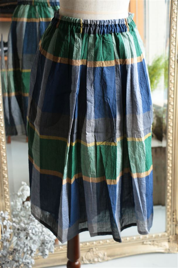 <SALE>21506 pot purri コップススカート グリーン