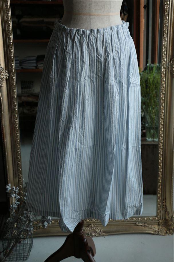 <SALE>21510 pot purri カウズスカート オフ ストライプ