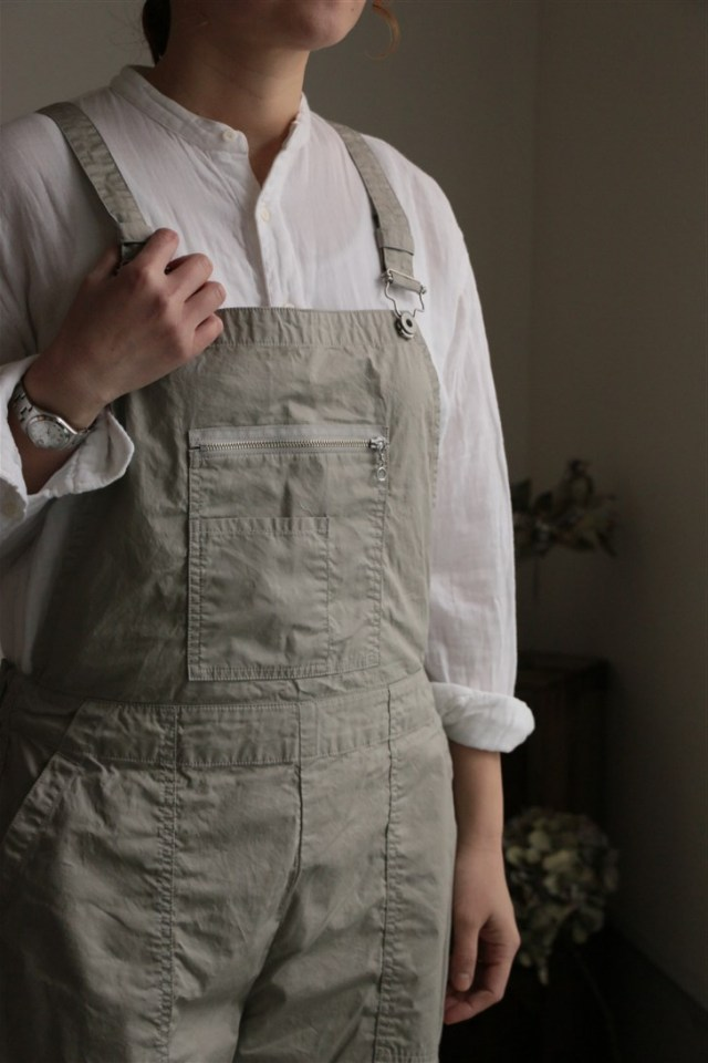 NPPT05 NAPRON GERMAN WORK OVERALL GRAY