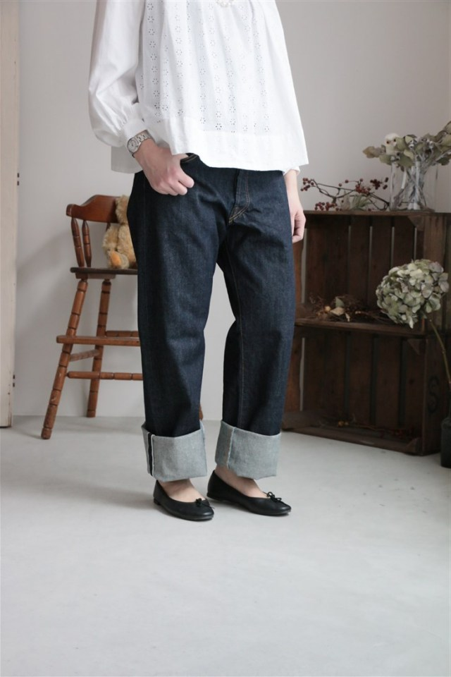DW09 DAILY WARDROBE INDUSTRY DAILY STANDARD DENIM サイズ展開あり
