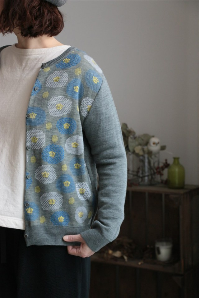 047A037030 marble SUD ツバキKNIT CD 3色