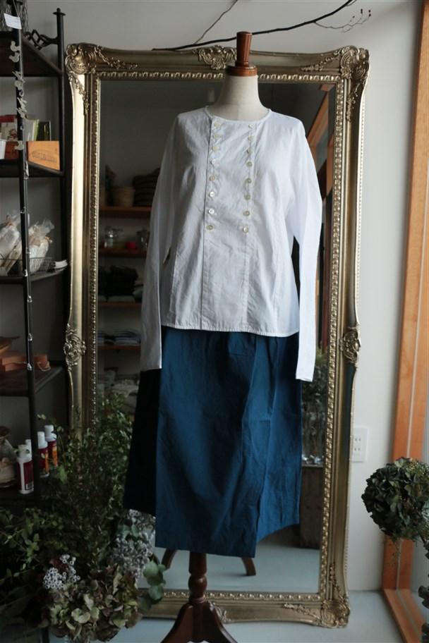 <SALE>15K136 TINA and SUSIE 綿麻ダンプスカート 2色
