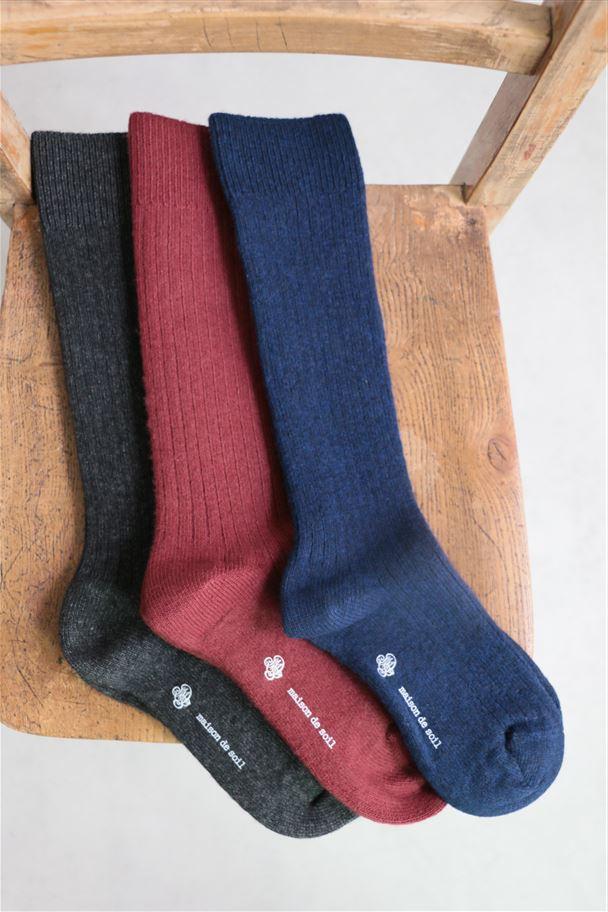 FNMDS1651 maison de soil socks 3色