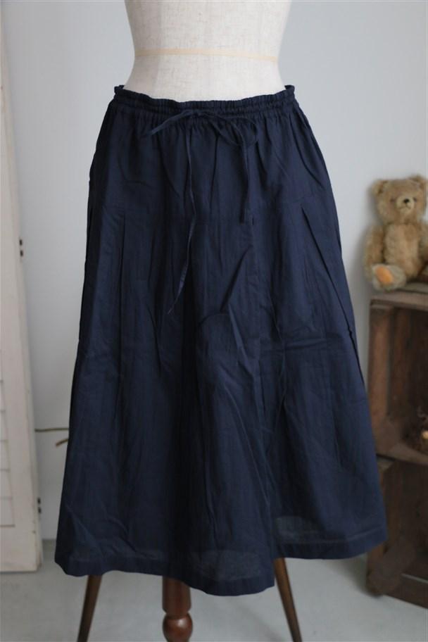 NSL1523 SOIL コットンギャザースカート 2色