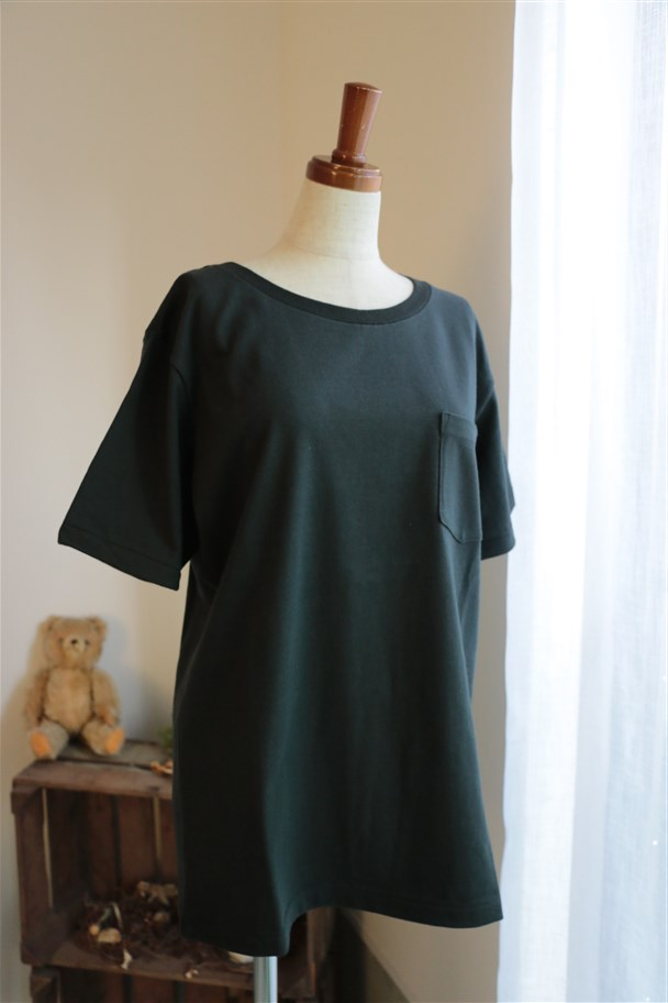 DW06  DAILY WARDROBE INDUSTRY POCKET T-SHIRT 3色
