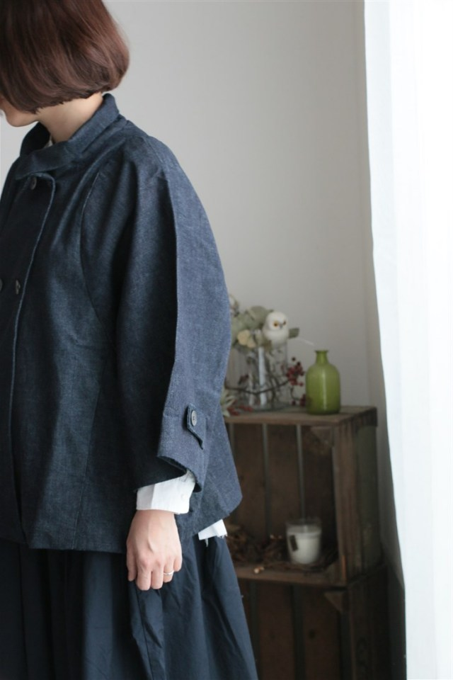 <SALE>17AW017D si si si SHORT COAT