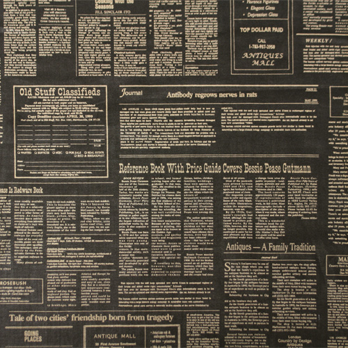 【小関鈴子先生デザインプリント - 1/2縮小版 - 】50x55cm (JKS-154) カラーバリエーション
