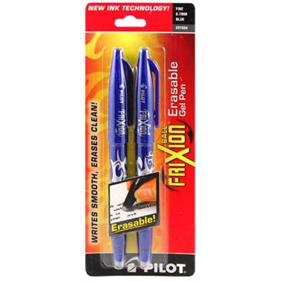 アイロン(熱)でラインが消える!FRIXION Erasable Gel Pen from USA(NOT-091)