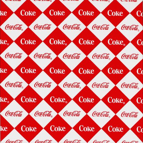 【コカ・コーラ柄】50x55cm (UEG-128)