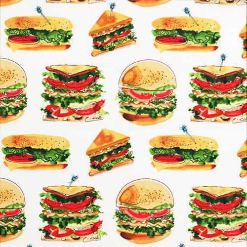 【Foods & Kitchen柄】50x55cm (UFK-201) カラーバリエーション