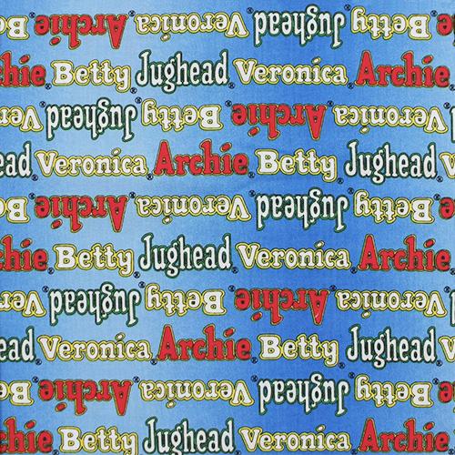 【Kidsプリント】- Archie Comics - 50x55cm (UKS-179) カラーバリエーション
