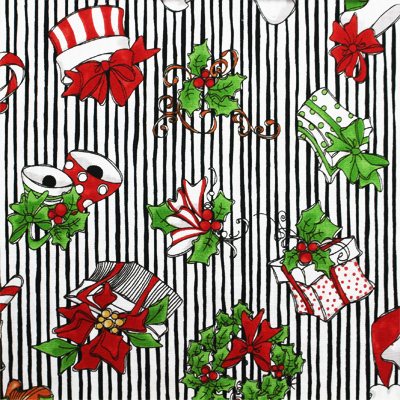 【Loralie Designs】- Christmas Crowd - 50x55cm (ULH-063) カラーバリエーション