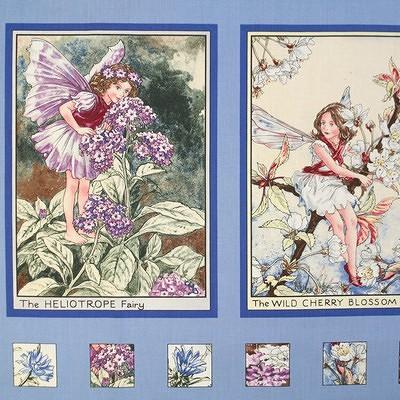 【Flower Fairies】フラワーフェアリー パネルプリント 60×110cm(UPG-019)