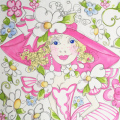 ��Loralie Designs��- Belles Applique Panel - 60x110cm (ULH-011)