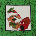 ��Loralie Designs��- Doggie Holiday Panel - 60x110cm (ULH-012)