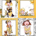 ��Loralie Designs��- Bee Happy! Panel - 60x110cm (ULH-027)