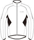 SUGOI helium jacket whiteblackcolor スゴイ ヘリウム ジャケット ホワイトブラックカラー 70104U WHB