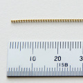 K18ボールチェーン 線径0.8mm カット販売