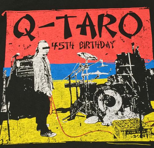 Q太郎生誕45年を祝う会Tシャツ