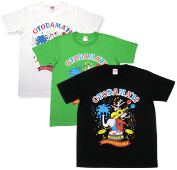 オトダマ大サーカス(ゾウ団長)Tシャツ