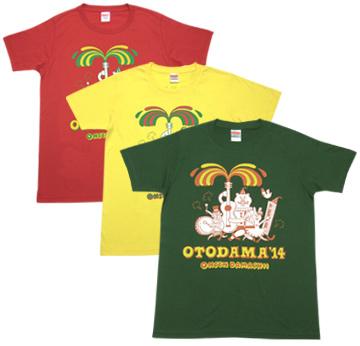 オトダマ音楽隊(クマ隊長)Tシャツ