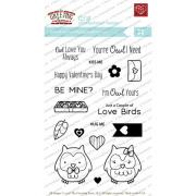 【ザ グリーティングファーム/The Greeting Farm】クリアスタンプ - Owl Yours