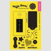 【ワッフルフラワー/waffle flower】クリアスタンプ - Surface Tag