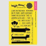 【ワッフルフラワー/waffle flower】クリアスタンプ - On My Mark