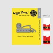 【ワッフルフラワー/waffle flower】ダイ - Surface Tag Santa Add on