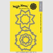 【ワッフルフラワー/waffle flower】ダイ - Lacy Flower Mats