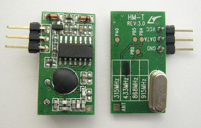 ASKとFSK変換無線送受信モジュールHM-T/HM-R