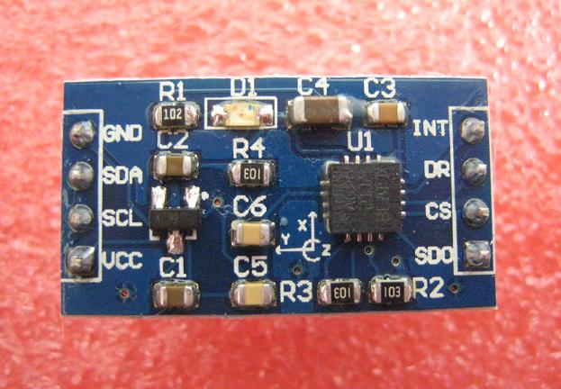 L3G4200D搭載三軸ジャイロモジュール