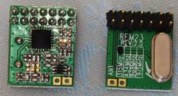 微弱無線送受信モジュールRFM23B
