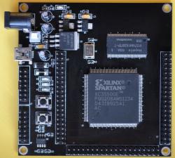 Xilinx(ザイリンクス) Spartan-3EシリーズFPGA XC3S500開発ボード