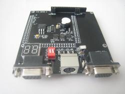 FPGA/CPLD拡張インタフェースボード(Lattice CPLD LC4128V開発ボード、Xilinx CPLD XC2C256開発ボード、Xilinx FPGA XC3S500開発ボード用)