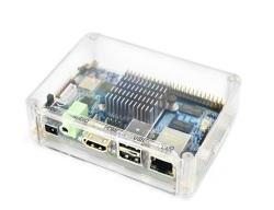 ARM/Cortex-A53・オクタコア(8コア) S5P6818開発ボード(小型で豊富なインタフェース搭載、ヒートシンク、アクリルボックス付き)