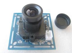 ビデオ(Video)出力付きRS232/JPEGシリアルカメラモジュール(TTLレベル変更可能)