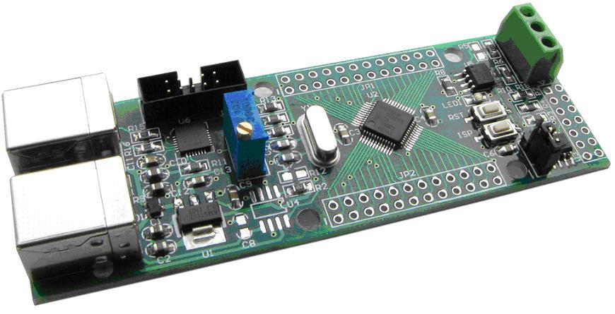 ARM Cortex-M3/LPC1343のUSBブートローダ搭載開発ボード