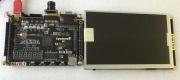 """FPGA/CycloneIV EP4CE6カメラ評価ボード+7""""TFT-LCD"""