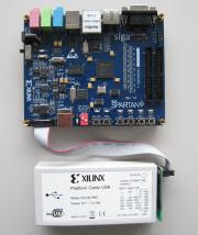�ڤ������åȡ�����̵����Xilinx  Spartan6 XC6SLX16��FPGA�ܡ���+XILINX USB������?����