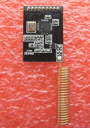 微弱無線送受信モジュールsi4432