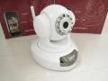 屋内用無線IP監視カメラ(ナイトビジョン機能付き、MJPEG圧縮)