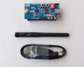 CC2530 Zigbeeモジュール評価ボード(アンテナ、バッテリボックス付き)