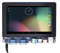"""「送料無料」ARM/Cortex-A9・4コア Tiny4412開発キット(7""""TFT静電タッチパネル付き)"""