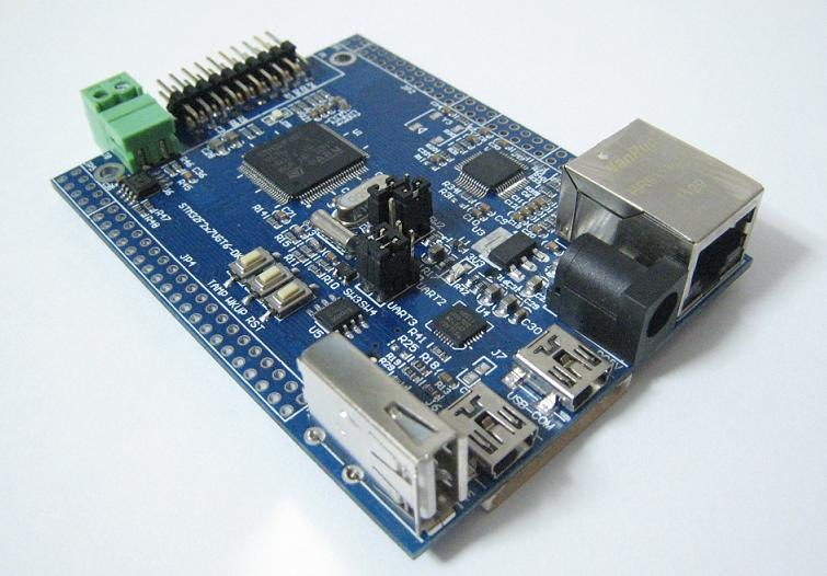 ARM Cortex-M3/STM32F207開発ボード
