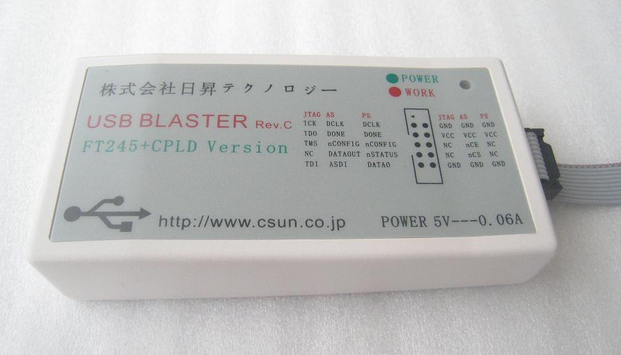 ALTERA CPLD/FPGA用のダウンロード・ケーブル