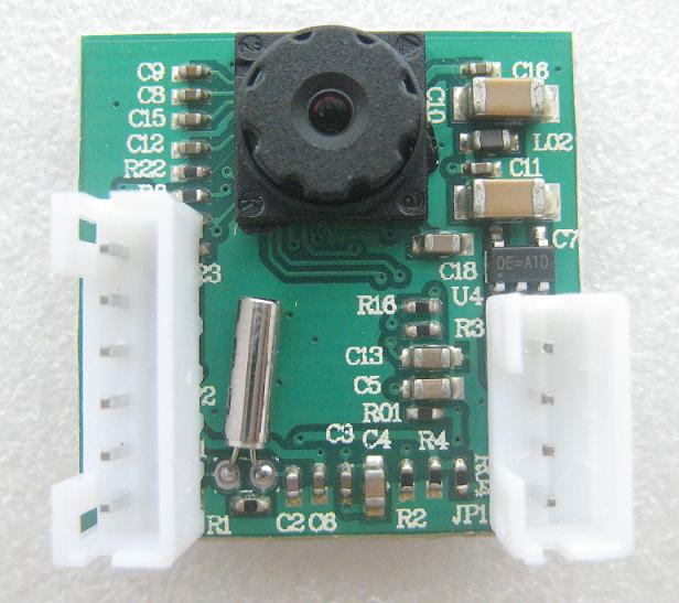 小型シリアルカメラモジュール(ビデオ(Video)出力付き、TTLレベルのUART/SPI通信、JPEG出力)