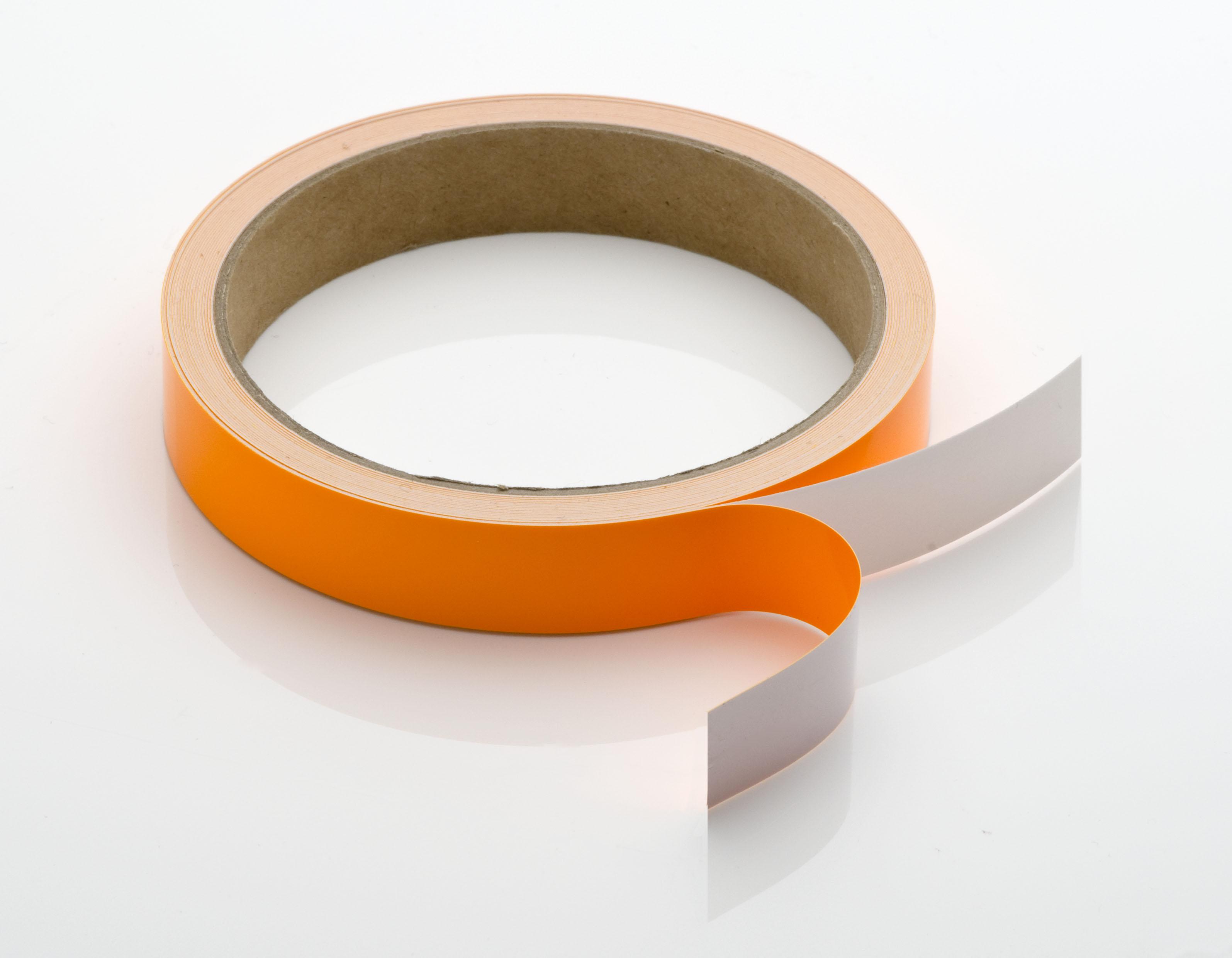 【カッティングシートテープ蛍光】  922Kオレンジ /15mm×5m巻【ゆうパケット可】